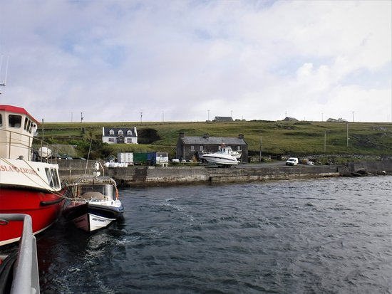 Inishbofin, Irland: Ferry from Bofin to Cleggan