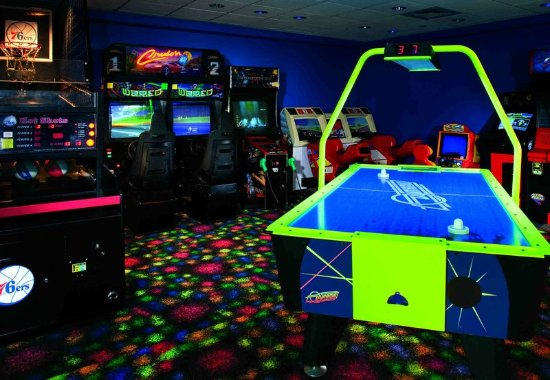 Absecon, نيو جيرسي: Game Room