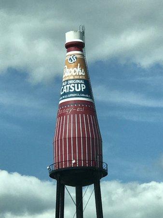 World's Largest Catsup Bottle: photo1.jpg