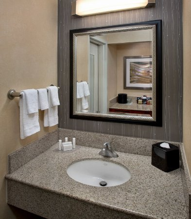 Bathroom Vanities Philadelphia guest bathroom vanity - picture of courtyard philadelphia airport