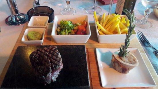 Bar & Restaurant Plage du Reposoir: filet de boeuf