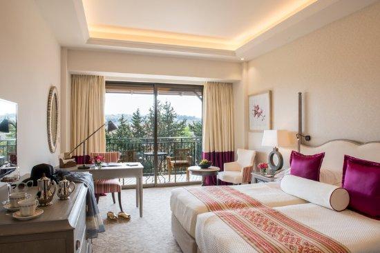 Elysium Hotel: Deluxe Bedroom Inland View