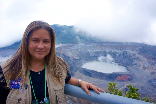 Poas Volcano National Park, كوستاريكا: Poas volcano.