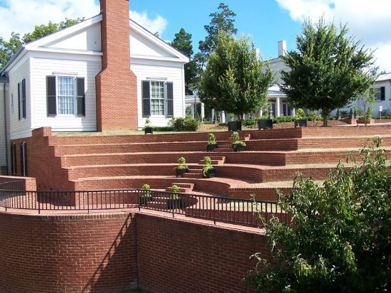 South Boston, VA: Ampitheater At Berry Hill