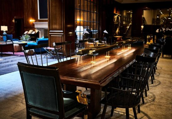 The Adolphus: Workspace Table