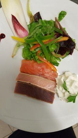 Portet-sur-Garonne, Frankrig: Tataki de poissons