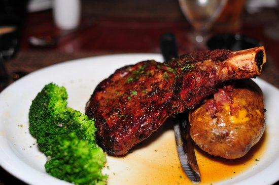 Cordele, GA: The 16 oz Cowboy bone-in ribeye is delicious!