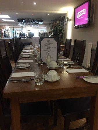 North Wootton, UK: Ottima colazione e servizio in camera