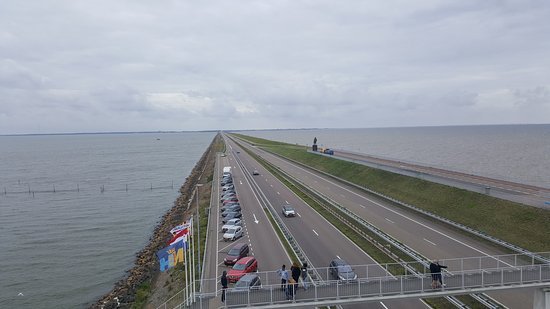 Den Oever, The Netherlands: Afsluitdijk