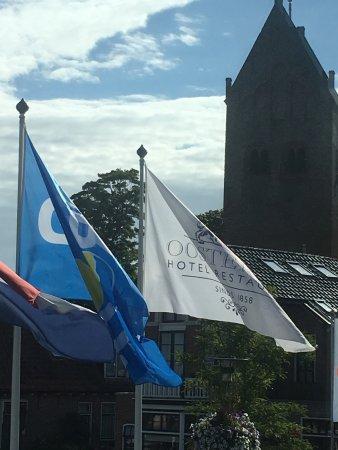 Hotel Oostergoo: Uitzicht vanuit het restaurant