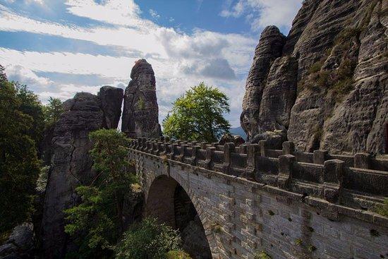 Bastei, ألمانيا: Die Basteibrücke