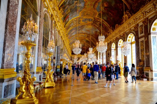 Château de Versailles : palais des glaces