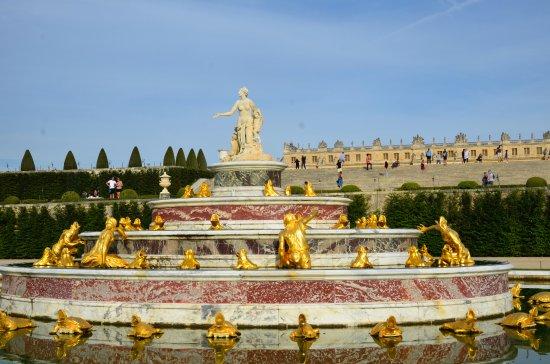 Château de Versailles : les fontaines