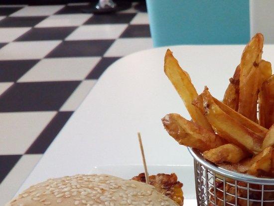 Verchaix, France: Le burger maison