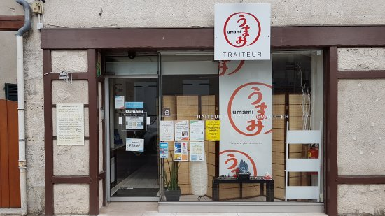 Bracieux, فرنسا: Oumami le top du sushi