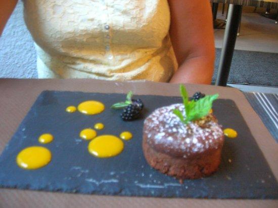 Hennebont, France : Moelleux au chocolat
