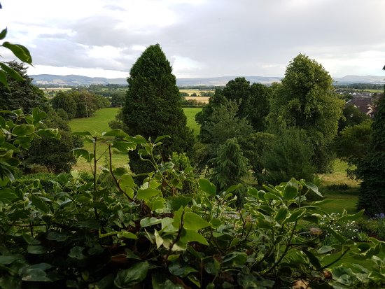 Alyth, UK: View from Premier double room