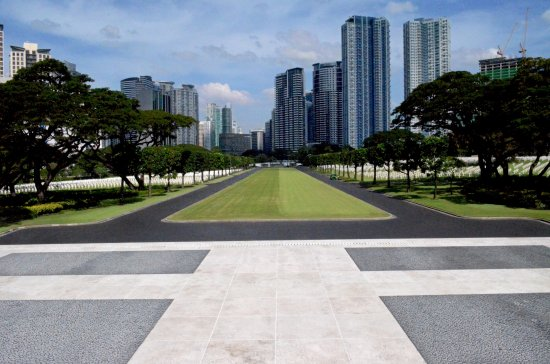 Manila American Cemetery and Memorial: Expansive Landscape