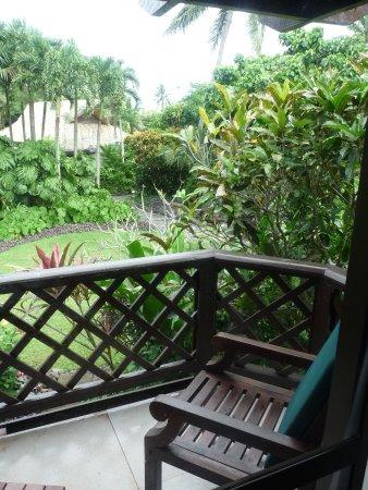 Pacific Resort Rarotonga : Our litle balcony