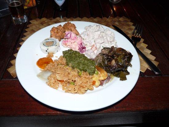 Muri, หมู่เกาะคุก: The food