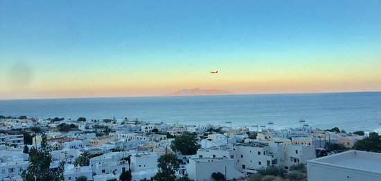 Aegean View Hotel : Sunrise - from the outside of the room