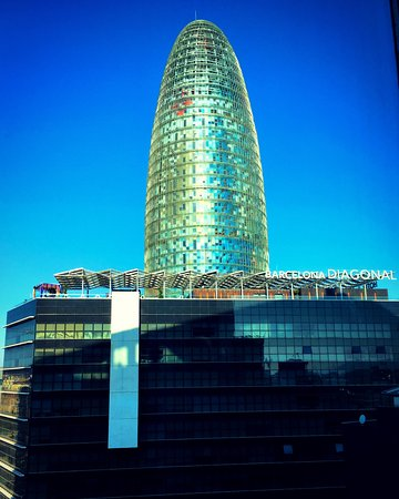 Novotel Barcelona City: View from our room