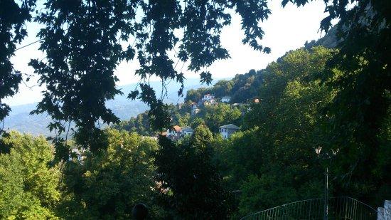 Pouri, กรีซ: Restaurant View