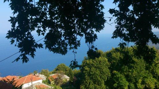 Pouri, Grecja: Restaurant View