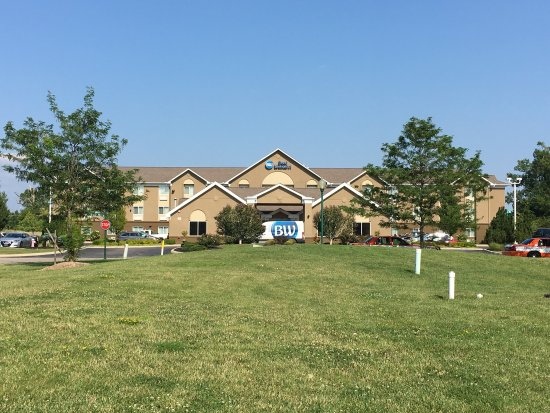 Best Western Port Columbus: Room and Facilities