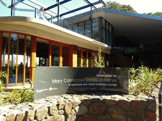 Maleny, Australia: State of the art information centre.