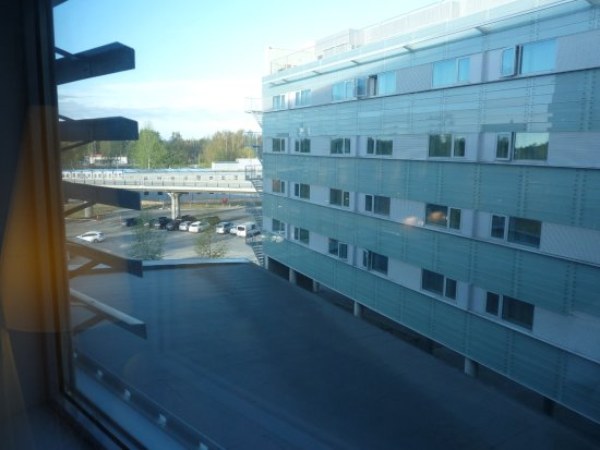 Gardermoen, Norwegen: Not much of a view