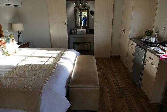 Addo, Zuid-Afrika: Ons mooie huisje