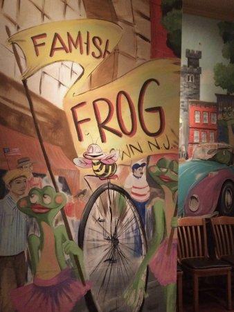 Morristown, NJ: Painted Mural