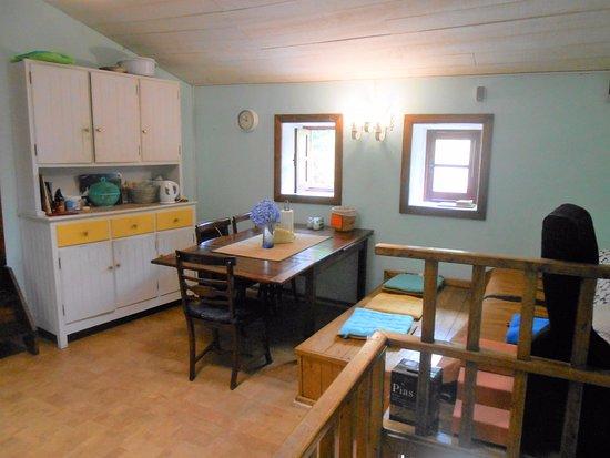 Pinheiro da Bemposta, Portugal: shared kitchen