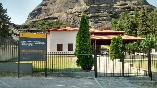 Digital Projection Centre of Meteora's History and Culture