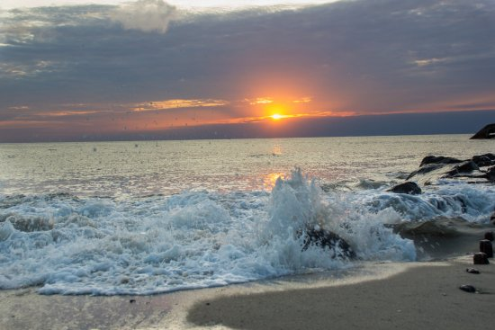 Cape May Whale Watch & Research Center: Sunset Beach