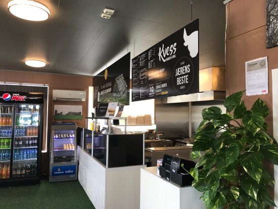 Bryne, Norway: Kvess Burger & Grill