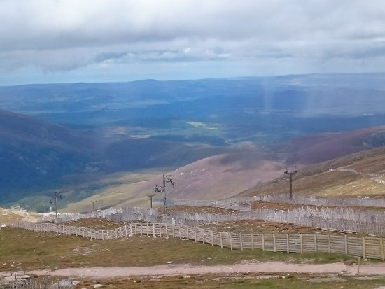 Aviemore, UK: A view from the top