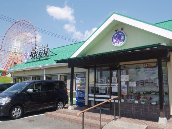 Arao, Japan: 店頭の様子
