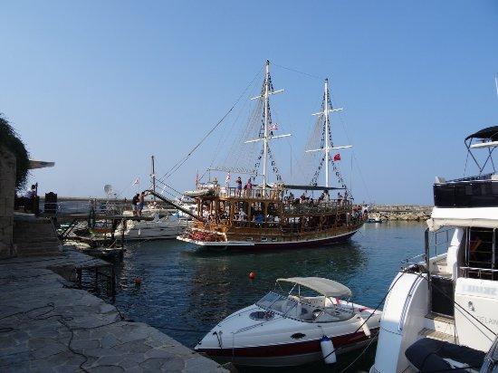 Old harbour kyrenia