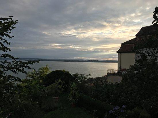 Blick nach Konstanz - Bild von Gutsschänke des Staatsweingutes ...