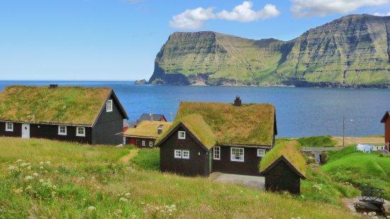 Bordhoy, Kepulauan Faroe: Mikladalur auf Kalsoy