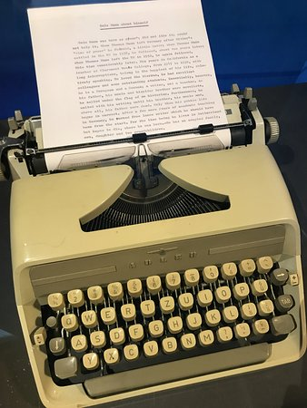 Buddenbrookhaus: Golo Manns Schreibmaschine