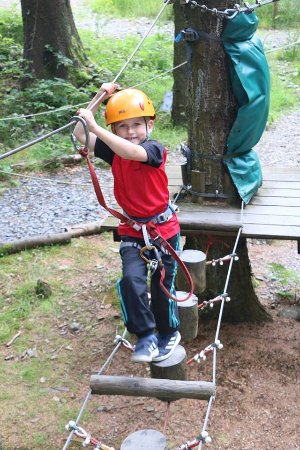Foxdale, UK: lower course - ideal for young children
