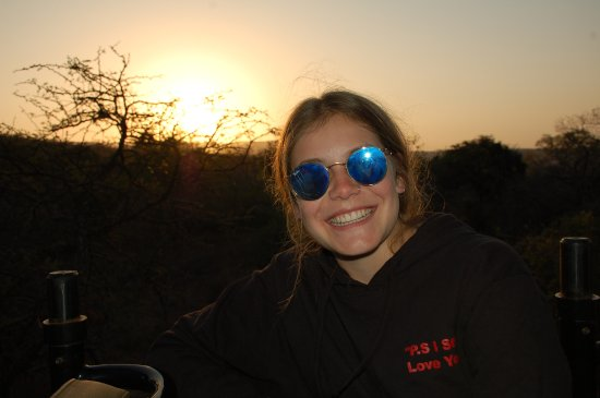 Mkuze, Sudáfrica: Safari sundowners
