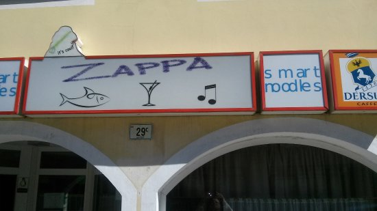 Zappa- Smart Noodles: Zappa - Smart Noodles - insegna