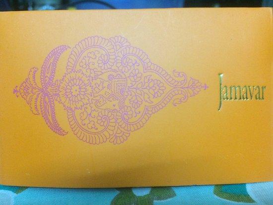 Jamavar: This is how Menu looks like