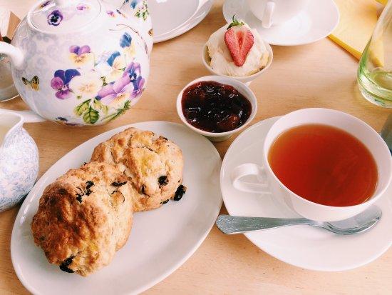 Lustleigh, UK: Primrose Cottage Tea Rooms