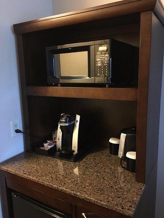 Hilton Garden Inn Green Bay: Facilidades, como coffe maker