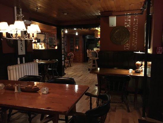 Montgomery Center, VT: Dining area